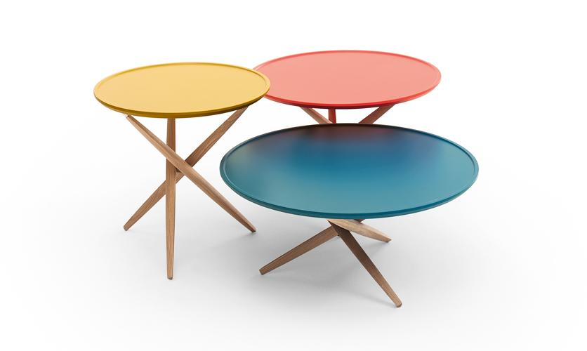 Table basse Pico, Sculptures jeux
