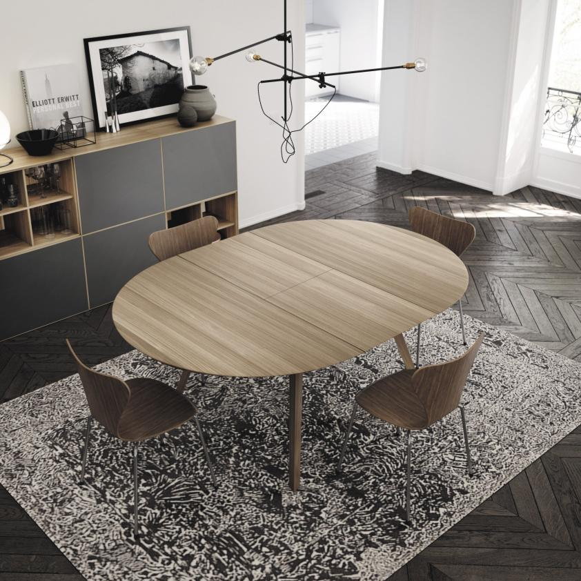 Tables ronde composable Aise , Treku