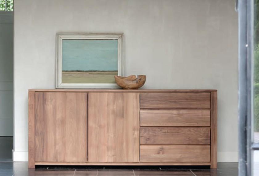 Acheter buffet lodge en teck meubles valence 26 for Meuble bar exterieur teck