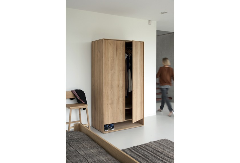 Armoire penderie Chêne Nordic, Ethnicraft