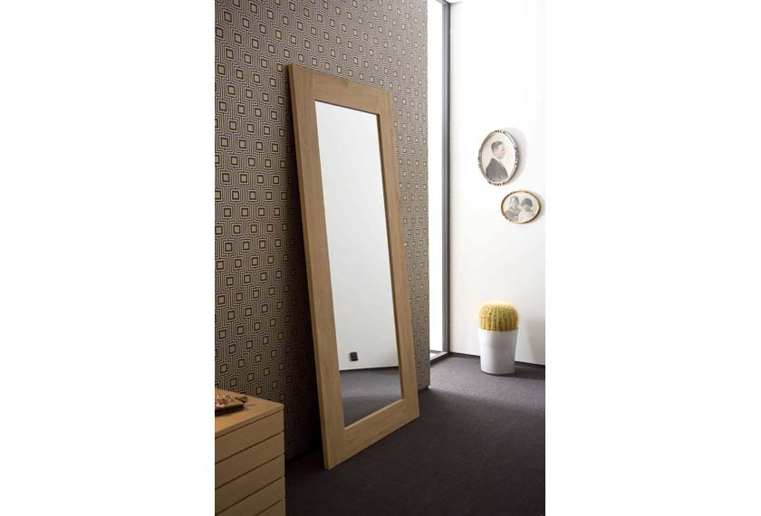 acheter miroir mirror en teck meubles valence 26. Black Bedroom Furniture Sets. Home Design Ideas