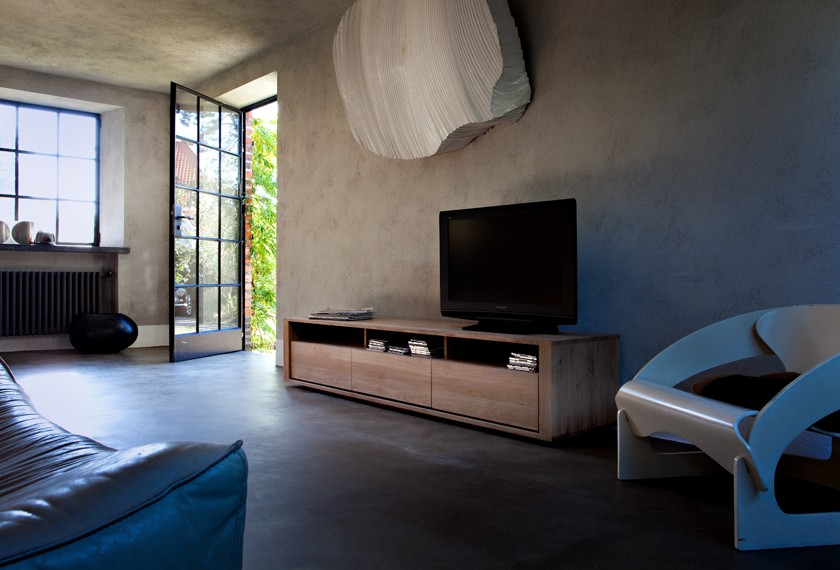 acheter meuble tv shadow en ch ne meubles valence 26. Black Bedroom Furniture Sets. Home Design Ideas