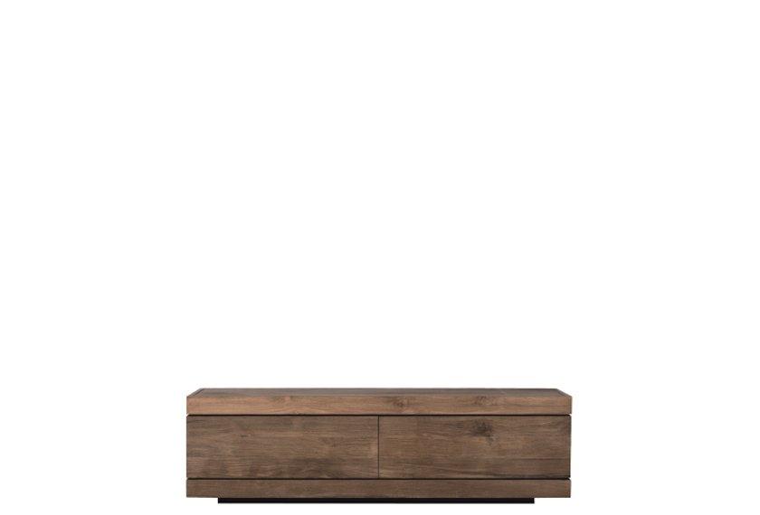 Acheter meuble tv burger en teck ethnicraft meubles for Meuble porte basculante