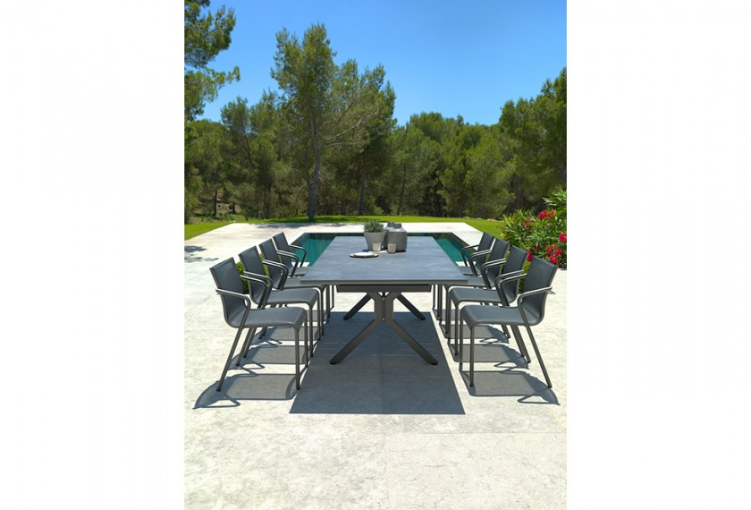 Table Xenah Extensible, Les Jardins