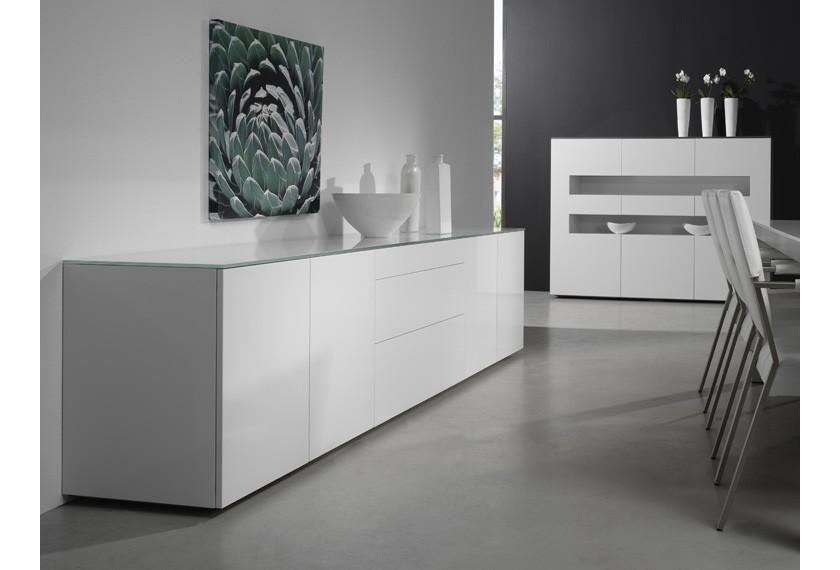 acheter buffet avec niches meubles valence 26. Black Bedroom Furniture Sets. Home Design Ideas