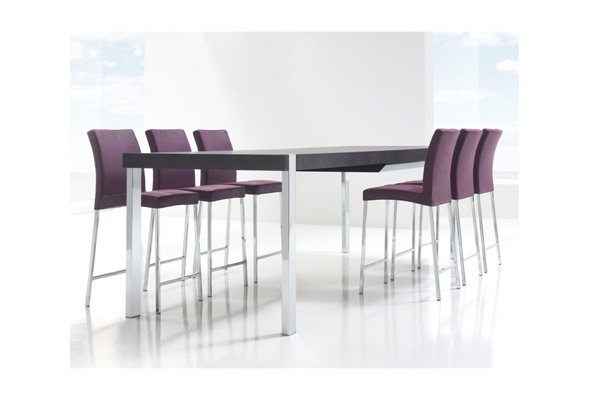 Table a manger haute extensible for Table haute salle a manger