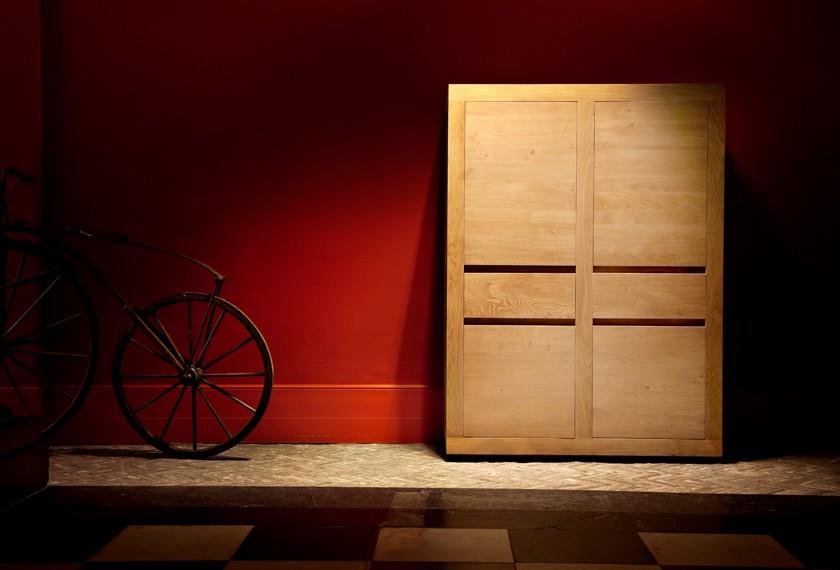 acheter armoirette flat en ch ne meubles valence 26. Black Bedroom Furniture Sets. Home Design Ideas