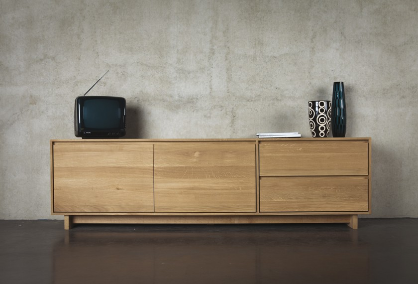 Acheter meuble tv chêne nordic meubles valence