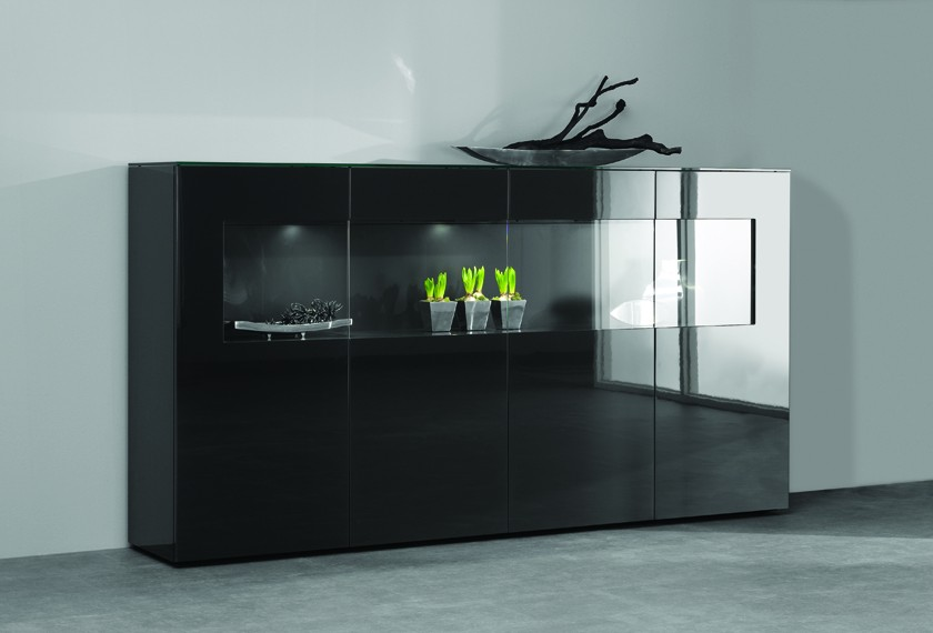 acheter vitrines avec clairage led meubles valence 26. Black Bedroom Furniture Sets. Home Design Ideas