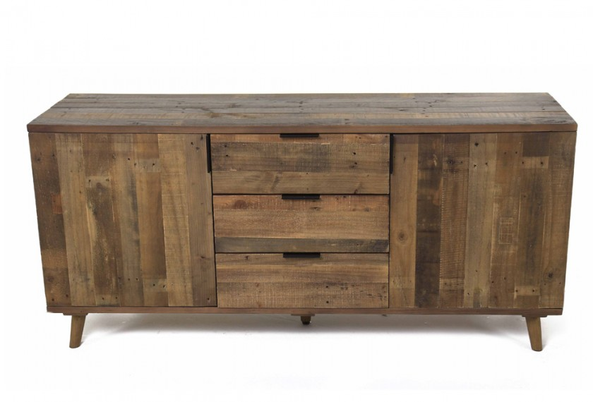 buffet bois zago. Black Bedroom Furniture Sets. Home Design Ideas