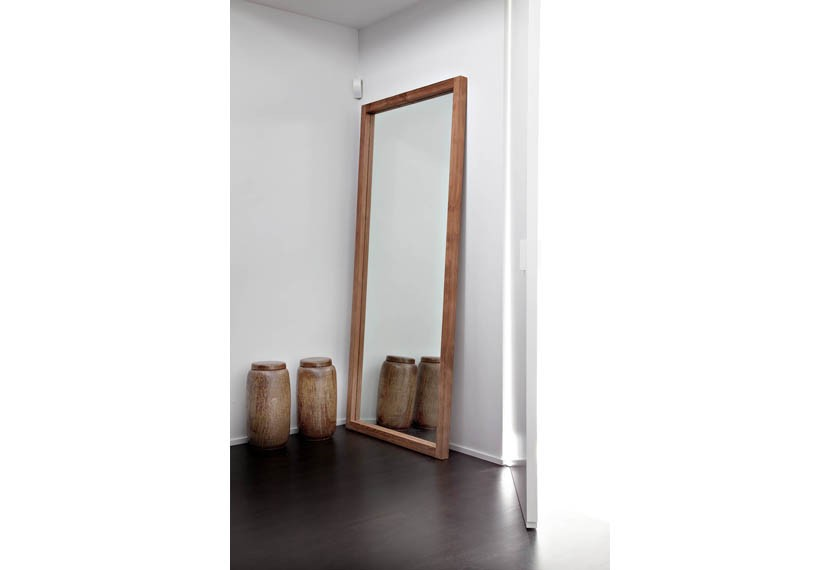 Miroir Light Frame Mirror en teck, Ethnicraft