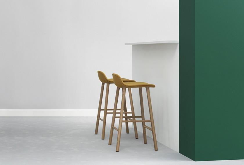 acheter tabouret de bar form normann copenhagen meubles valence 26. Black Bedroom Furniture Sets. Home Design Ideas
