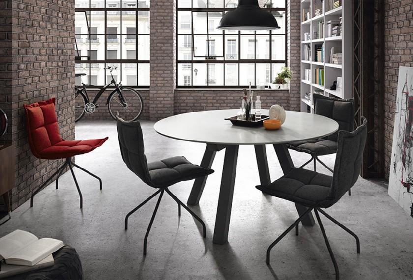 Acheter table ronde duero dressy mobliberica meubles for Acheter table ronde