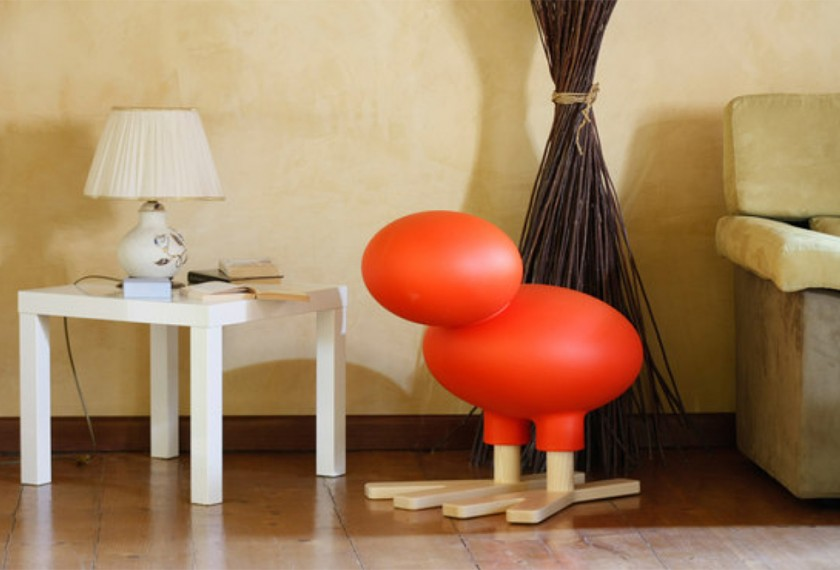 Tabouret enfant Happy Bird, Magis