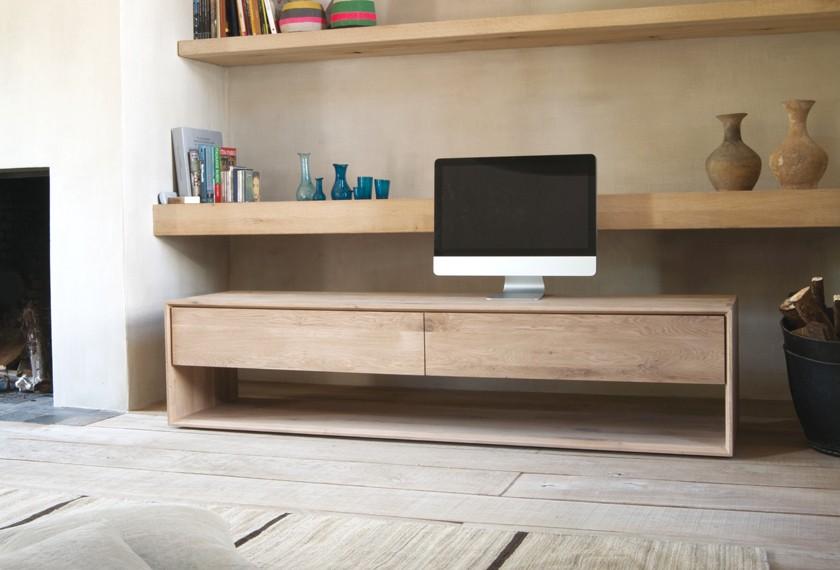 Acheter armoirette ch ne nordic meubles valence 26 for Meuble tv combine